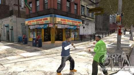 Franklin de GTA 5 pour GTA 4 cinquième écran