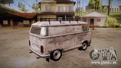 Volkswagen Transporter T2 Custom für GTA San Andreas rechten Ansicht