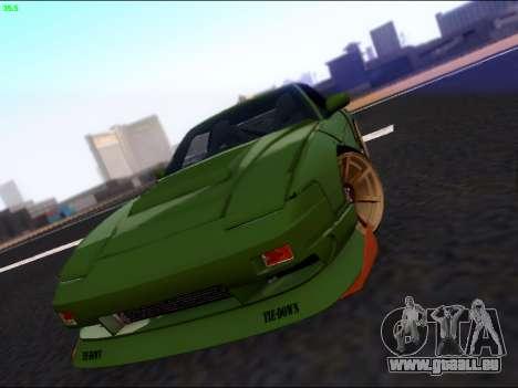 Nissan 180sx Takahiro Kiato für GTA San Andreas Seitenansicht