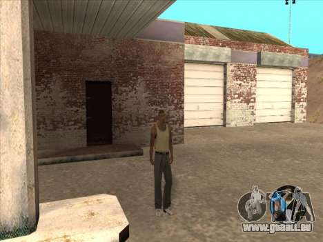 Commutation entre les personnages comme dans GTA pour GTA San Andreas quatrième écran