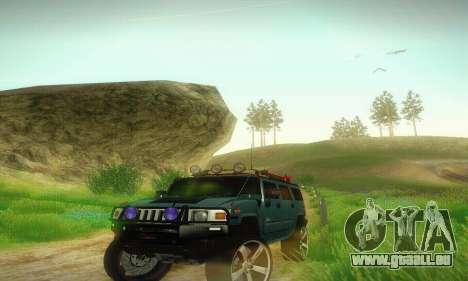 Hummer H2 Monster für GTA San Andreas