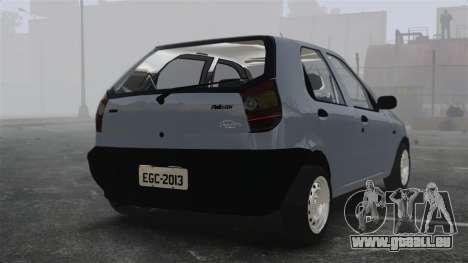 Fiat Palio EDX 1997 für GTA 4 hinten links Ansicht