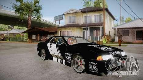 Elegy Touge Tune pour GTA San Andreas vue arrière