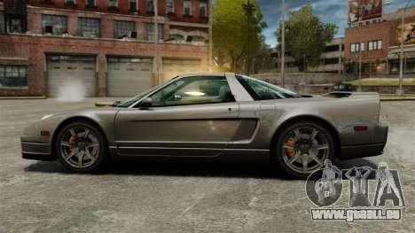 Acura NSX für GTA 4 linke Ansicht
