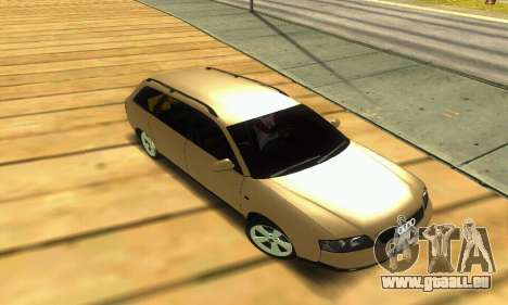 Audi A6 (C5) Avant für GTA San Andreas obere Ansicht
