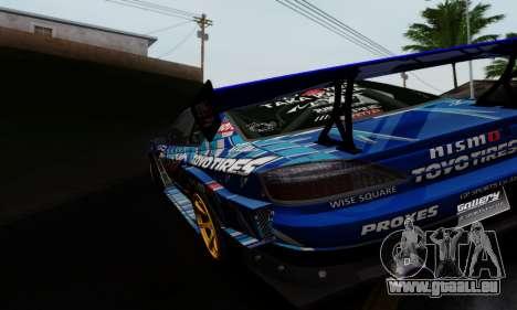Nissan Silvia S15 Toyo Drift für GTA San Andreas rechten Ansicht