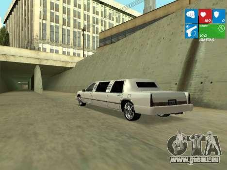 New Stretch für GTA San Andreas rechten Ansicht