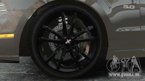 Ford Mustang GT 2013 für GTA 4 Rückansicht