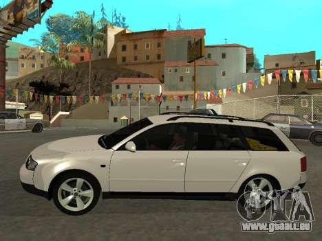 Audi A6 (C5) Avant für GTA San Andreas linke Ansicht