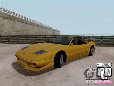 Super GT HD pour GTA San Andreas laissé vue