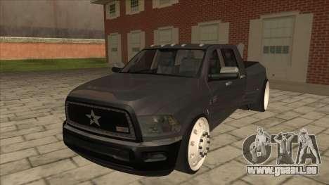 Dodge Ram Laramie Low pour GTA San Andreas