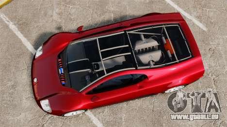 Volkswagen W12 Nardo 2001 [EPM] pour GTA 4 est un droit