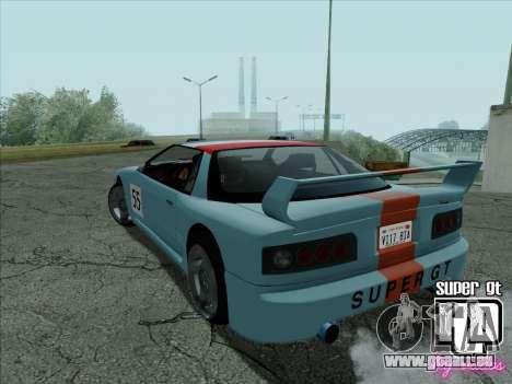 Super GT HD pour GTA San Andreas moteur