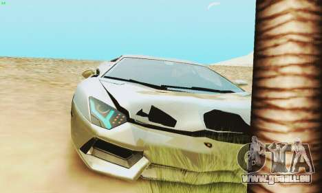 Lamborghini Aventador LP700 pour GTA San Andreas moteur