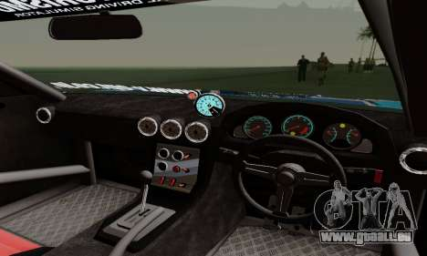 Nissan Silvia S15 Toyo Drift pour GTA San Andreas vue de dessus
