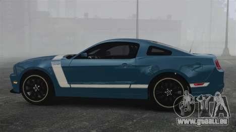 Ford Mustang BOSS 2013 pour GTA 4 est une gauche