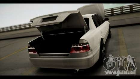 Toyota Chaser Tourer V für GTA San Andreas Rückansicht