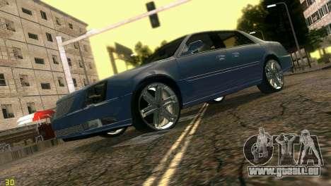 Caddy DTS DUB für GTA Vice City Rückansicht