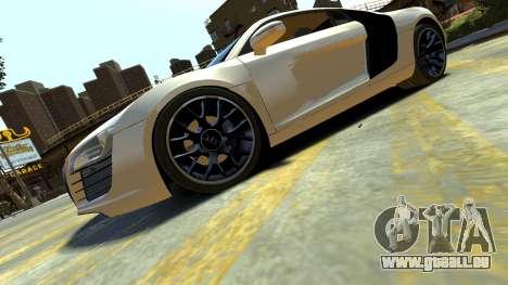 Audi R8 pour GTA 4 est une gauche