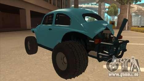 Volkswagen Baja Buggy 1963 pour GTA San Andreas vue arrière