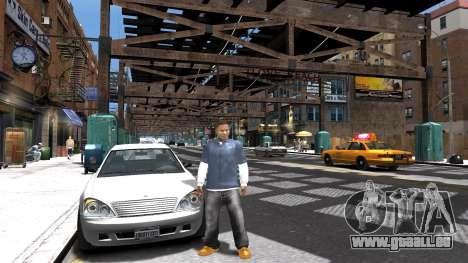 Franklin de GTA 5 pour GTA 4 troisième écran