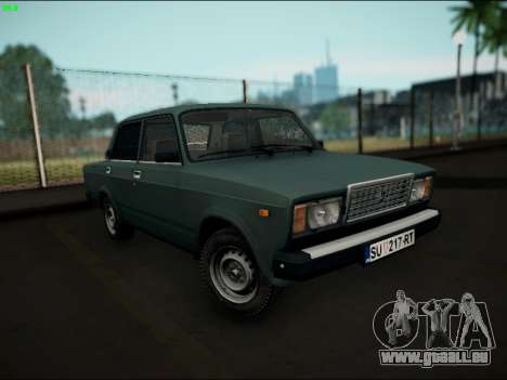 LADA 2107 Riva für GTA San Andreas