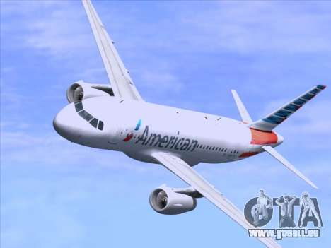 Airbus A319-112 American Airlines pour GTA San Andreas moteur