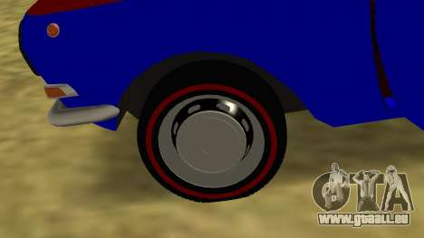 Volga gaz-24 Fun pour GTA San Andreas vue de côté