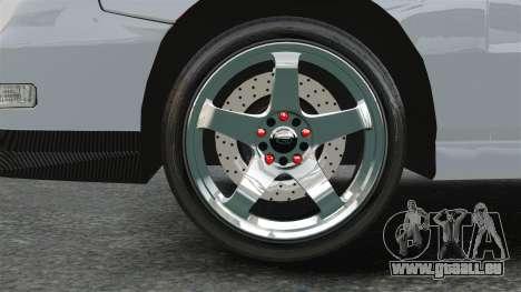 Acura Integra Type-R Domo Kun pour GTA 4 Vue arrière