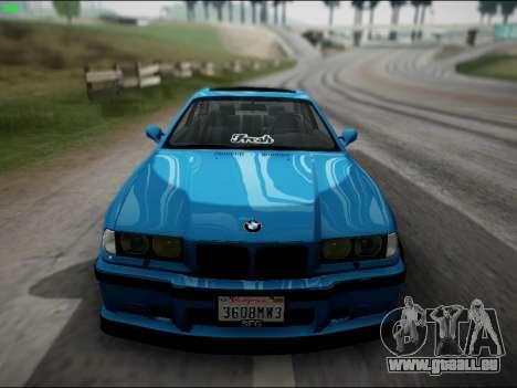 BMW M3 E36 Stance pour GTA San Andreas vue arrière