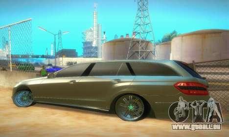 Mercedes-Benz E350 Wagon pour GTA San Andreas vue de droite