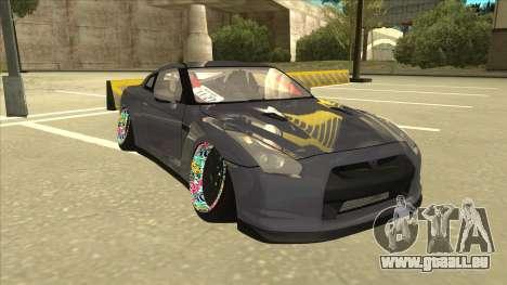 Nissan GT-R R35 Camber Killer pour GTA San Andreas laissé vue