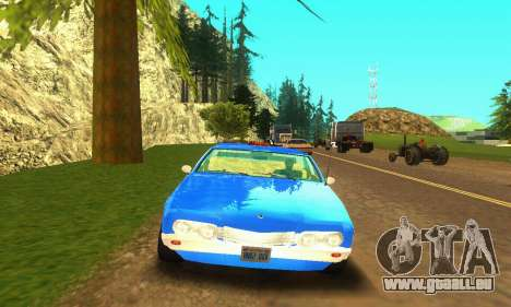 Fasthammer Taxi pour GTA San Andreas laissé vue