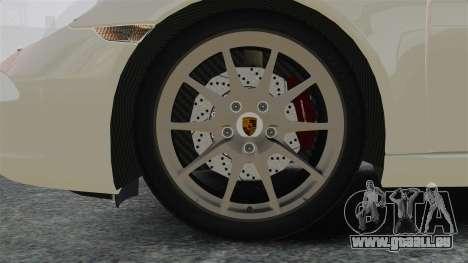 Porsche 911 Carrera S 2012 v2.0 pour GTA 4 Vue arrière