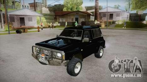 Nissan Patrol Y60 pour GTA San Andreas salon