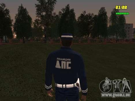 Sergent DPS pour GTA San Andreas troisième écran