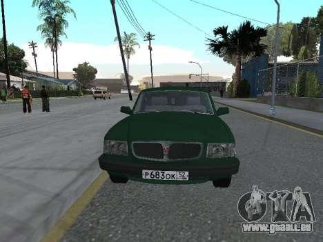 310221 GAZ pour GTA San Andreas laissé vue