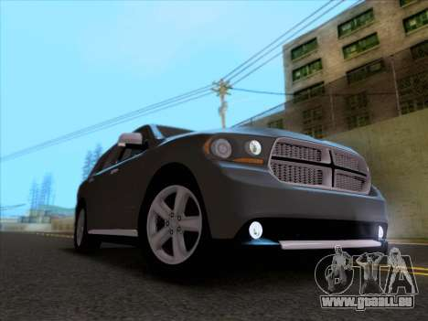 Dodge Durango Citadel 2013 pour GTA San Andreas vue intérieure
