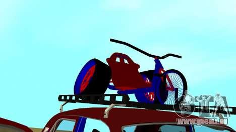 Volga gaz-24 Fun pour GTA San Andreas vue de dessus