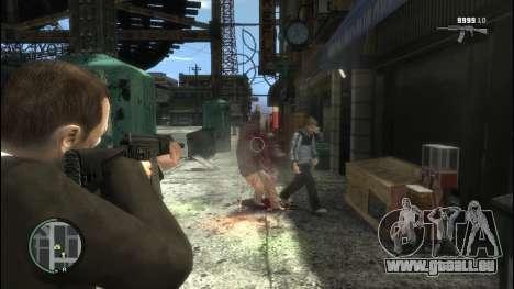 Sayga 12 pour GTA 4 troisième écran