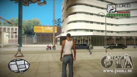 GTA HD mod 2.0 pour GTA San Andreas deuxième écran