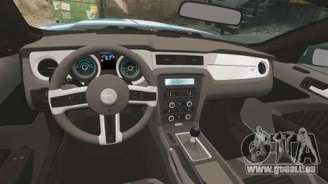 Ford Mustang BOSS 2013 pour GTA 4 Vue arrière