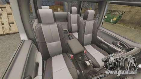 Chevrolet TrailBlazer SS 2008 für GTA 4 Seitenansicht
