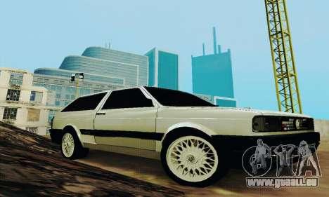 VW Parati GLS 1988 pour GTA San Andreas vue arrière