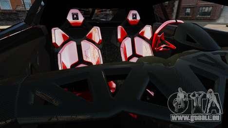 Lamborghini Veneno für GTA 4 Seitenansicht