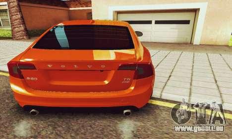 Volvo S60 pour GTA San Andreas salon