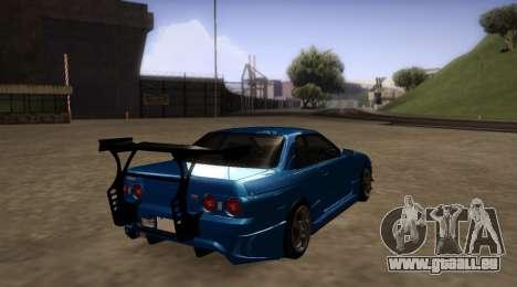 Nissan Skyline R32 GT-R pour GTA San Andreas vue de droite