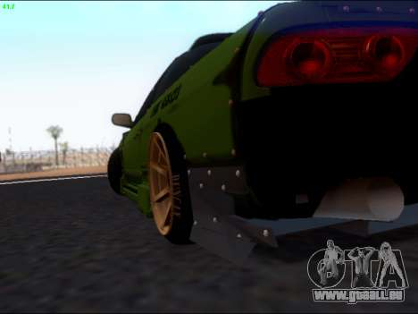 Nissan 180sx Takahiro Kiato für GTA San Andreas Innenansicht