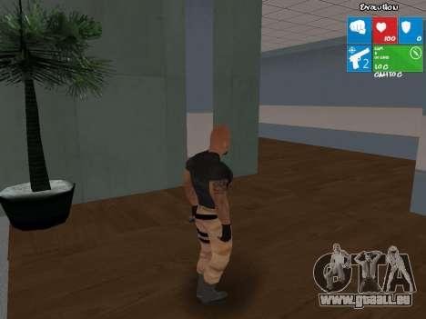 Luke Hobbs aus dem schnellen und furiosen 5 für GTA San Andreas zweiten Screenshot