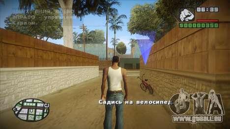 GTA HD mod 2.0 für GTA San Andreas her Screenshot